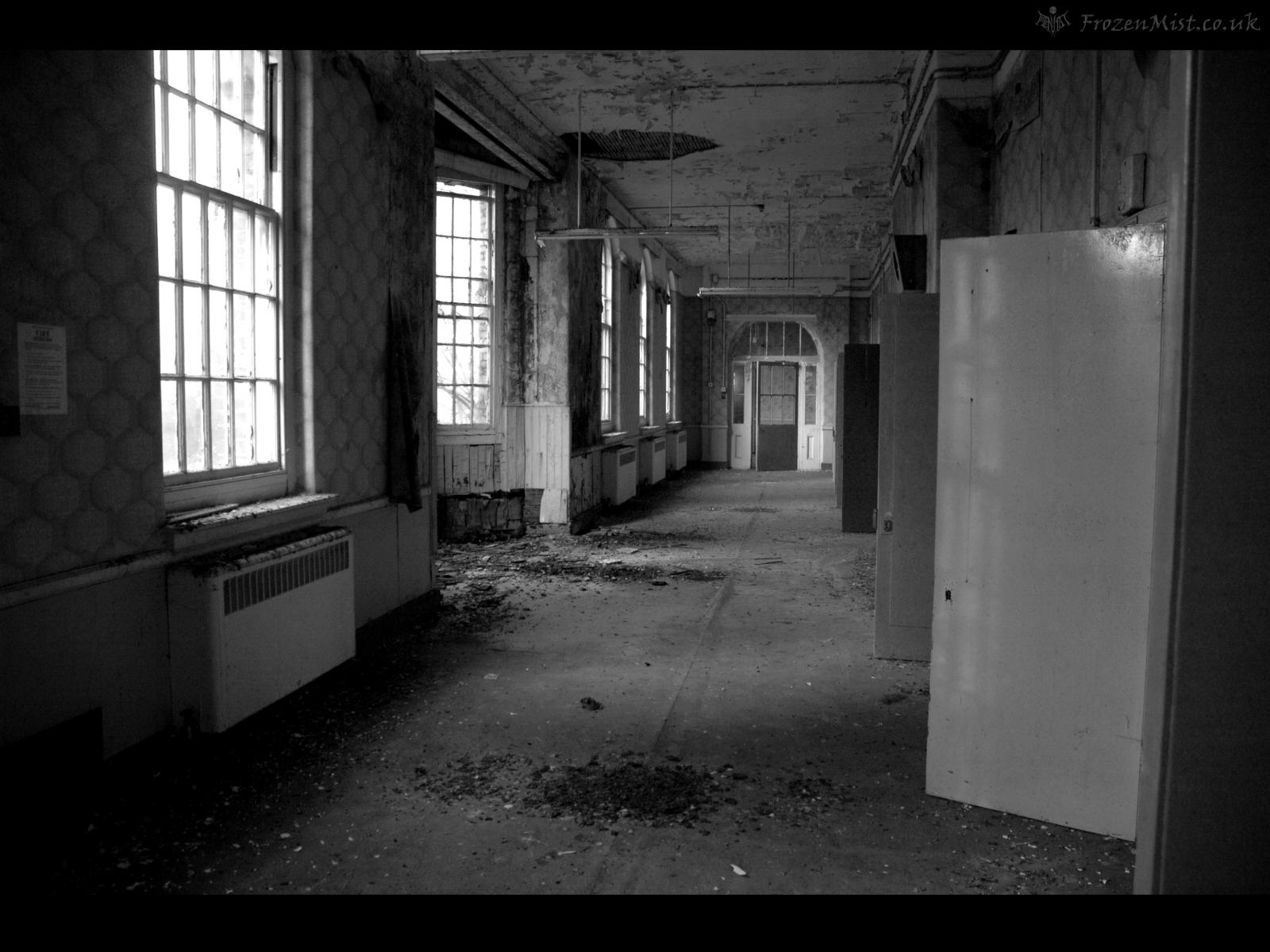 Corridor 1 wallpaper frozenmist - Wallpaper corridor ...